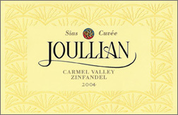 Wine:Joullian Vineyards 2004 Zinfandel - Sias Cuvee, Estate (Carmel Valley)