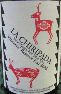 La Chiripada Winery 2006 Vintner's Reserve Red  (New Mexico)
