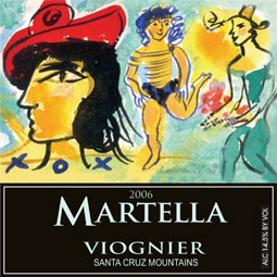Wine:Michael Martella Wines 2006 Viognier  (Santa Cruz Mountains)