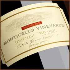 Monticello Vineyards|Corley Family Napa Valley 2005 Syrah  (Oak Knoll District of Napa Valley)