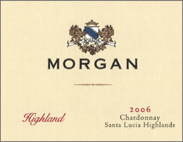 Morgan Winery 2006 Chardonnay, Highland (Santa Lucia Highlands)