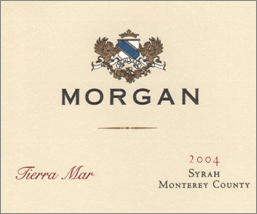 Morgan Winery 2004 Tierra Mar  Syrah  (Monterey)
