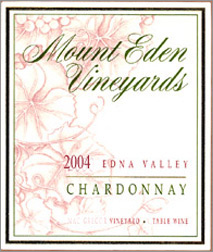 Mount Eden 2004 Chardonnay, Wolff Vineyard (Edna Valley)