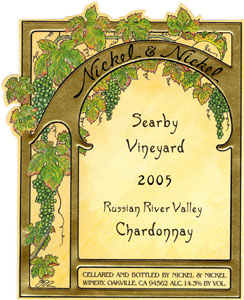 Nickel & Nickel 2005 Chardonnay, Searby Vineyard (Russian River Valley)