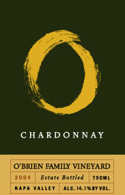 O'Brien Family Vineyard 2004 Chardonnay  (Napa Valley)