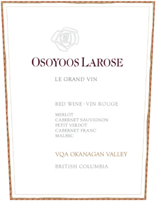 Osoyoos Larose 2004 Le Grand Vin  (Okanagan Valley)