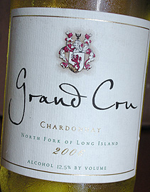 Raphael 2006 Grand Cru Chardonnay  (North Fork of Long Island)