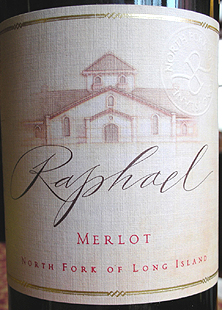 Raphael 2002 First Label Merlot  (North Fork of Long Island)