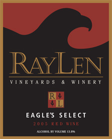 RayLen Vineyards 2005 Eagle's Select  (Yadkin Valley)