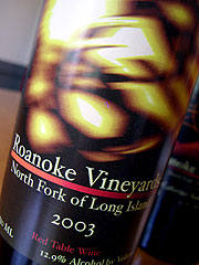 Roanoke Vineyards Red Table Wine