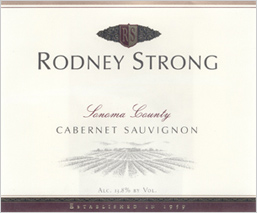 Rodney Strong Vineyards 2003 Cabernet Sauvignon  (Sonoma County)