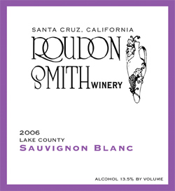 Roudon-Smith Winery 2006 Sauvignon Blanc  (Lake County)