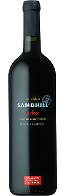 Wine:Sandhill 2004 Malbec - Small Lots, Phantom Creek Vineyard (Okanagan Valley)