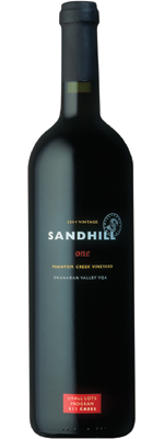 Wine:Sandhill 2004 one - Small Lots, Phantom Creek Vineyard (Okanagan Valley)