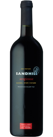 Wine:Sandhill 2004 Sangiovese - Small Lots, Sandhill Estate Vineyard (Okanagan Valley)