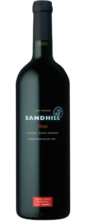 Wine:Sandhill 2004 three - Small Lots, Sandhill Estate Vineyard (Okanagan Valley)