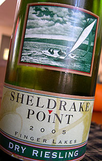 Sheldrake Point Vineyard 2005 Dry Riesling  (Finger Lakes)