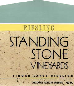 Wine:Standing Stone Vineyards 2006 Riesling  (Finger Lakes)