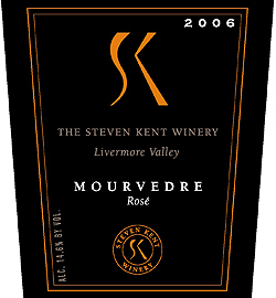 Wine:Steven Kent Winery 2006 Mourvedre Rosé, Raboli Ranch (Livermore Valley)