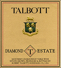 Wine:Robert Talbott Vineyards 2002 Chardonnay, Diamond T Estate (Monterey)