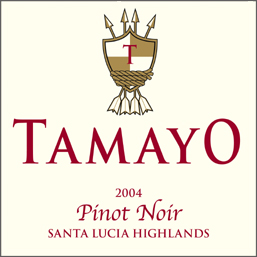 Wine:Tamayo Family Vineyards 2004 Pinot Noir, Sleepy Hollow Ranch (Santa Lucia Highlands)