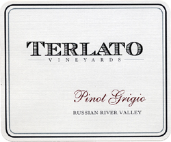 Wine:Terlato Family Vineyards 2005 Pinot Grigio  (Russian River Valley)