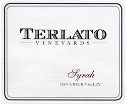 Wine:Terlato Family Vineyards 2004 Syrah  (Dry Creek Valley)