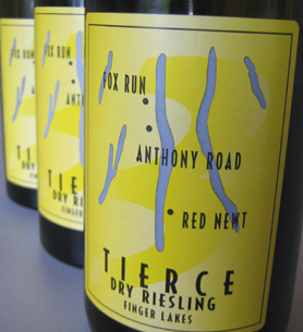 Wine:Fox Run Vineyards 2006 TIERCE - Dry Riesling  (Finger Lakes)