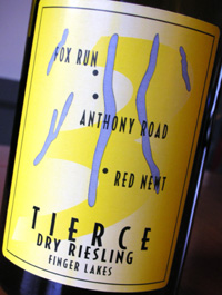 Wine:Tierce 2004 Riesling  (Finger Lakes)