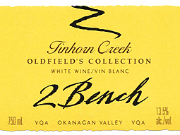 Tinhorn Creek Vineyards 2006 Oldfield's Collection 2Bench  (Okanagan Valley)