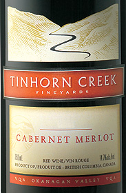 Tinhorn Creek Vineyards 2005 Cabernet Merlot  (Okanagan Valley)