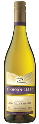 Wine:Tinhorn Creek Vineyards 2006 Gewurztraminer  (Okanagan Valley)