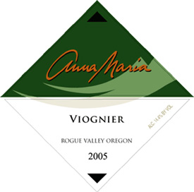 Wine:Valley View Winery 2005 Anna Maria Viognier  (Rogue Valley)