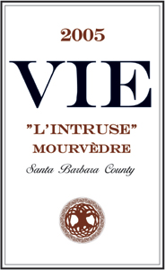 "VIE Winery 2005 ""L'Intruse"" Mourvedre  (Santa Barbara County)"