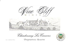 Vine Cliff Winery 2004 Chardonnay Proprietor's Reserve  (Carneros)