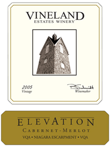 Wine: Vineland Estates Winery 2005