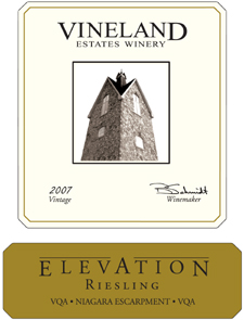 Wine: Vineland Estates Winery 2007