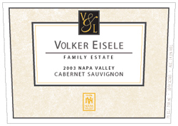 Wine:Volker Eisele Family Estate 2003 Cabernet Sauvignon  (Chiles Valley)