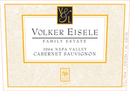 Volker Eisele Family Estate 2004 Cabernet Sauvignon  (Chiles Valley)