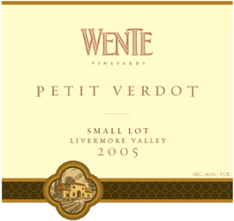 Wente Vineyards 2005 Petite Verdot  (Livermore Valley)
