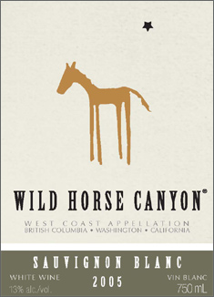 Wine:Wild Horse Canyon Winery 2005 Sauvignon Blanc  (International)