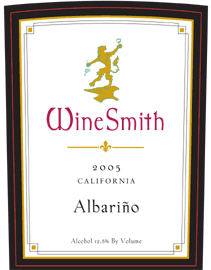 WineSmith 2005 Albarino  (California)