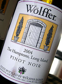Wolffer Estate 2004 Pinot Noir