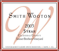 Smith Wooton - Napa Valley