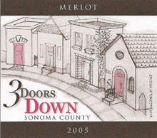 3 Doors Down Winery-Merlot