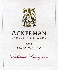 Ackerman Family Vineyards-Cabernet Sauvignon