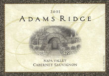 Adam's Ridge Winery-Cabernet Sauvignon