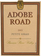 Adobe Road Wines-Petite Sirah