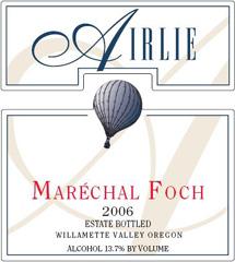 Airlie Wine-Marechal Foch