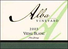 Alba Vineyard-Vidal Blanc